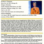 Six hours to the Dem debate. Recap facts about Hillary from @cqprofiles here: http://t.co/baVtE4Nt4U
