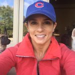 Go @Cubs!!!!! #chicagopride this hat is circa 2005 when I threw a first pitch! And sang???? http://t.co/oL4DEHFKpQ