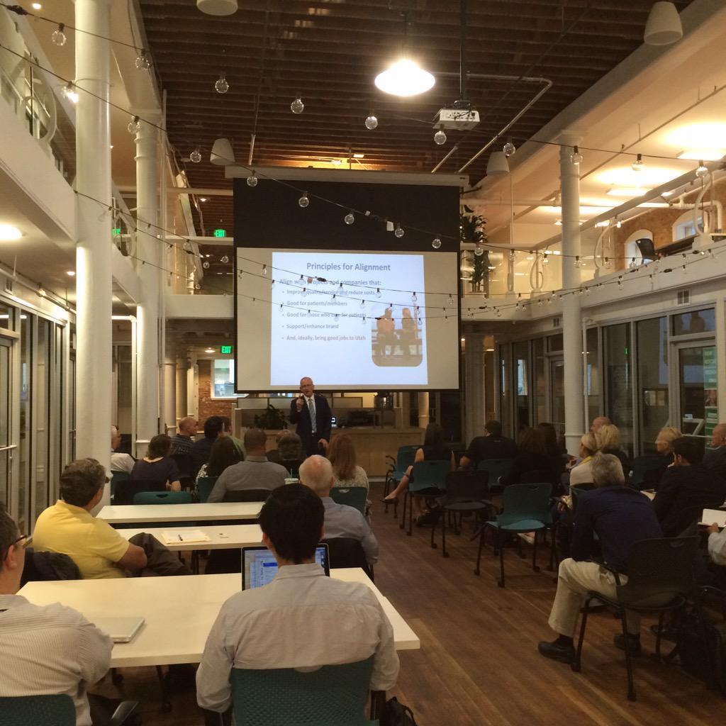 .@Intermountain CFO inspires our Foundry and Studios entrepreneurs in #SLC to keep innovating! http://t.co/IqLkcmZvPv