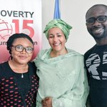 That Smile @AminaJMohammed gives so much support to youth development, Nigerias greatest resources. She is Bea. http://t.co/nXmTdS4t3x