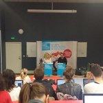 @jph_guerin deuxième #invitédelasemaine à l@isegmcs #Lyon de chez @dentsuaegisFR http://t.co/TsN9q2mjbB