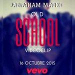 Este viernes16 estreno de #OldSchoolVideoclip de @AbrahamMateoMus👌 @AbrahamMateoESP @SolMusica @mtvspain @VH1 @40TV http://t.co/B4MOPmr0zl