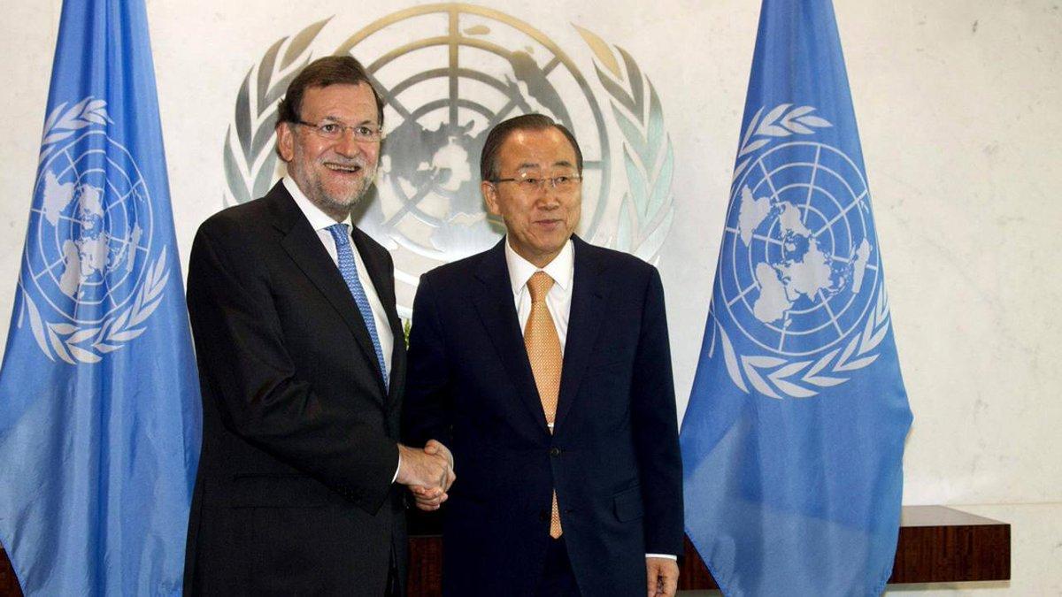 ¨En los conflictos puede ser peor ser mujer que ser soldado¨ Rajoy, en la ONU. http://t.co/IvEr0Pn9eF