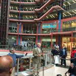 .@GovRauner announcing demolition and land auction of the Thompson Center @wlsam890 http://t.co/hiGSMT2ISu