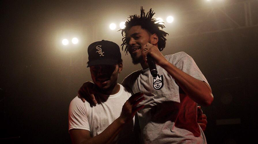 The 1st night of the @ChanceTheRapper tour NC's own @JColeNC showed up! See Chance HERE 11/10 http://t.co/z0CkgtUm8H http://t.co/F0CIF6fC1O