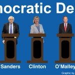 The first #DemDebate is tonight. Get familiar with the participants http://t.co/krGWrOEOXR http://t.co/dGayA6qV5v