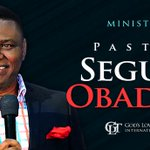 Now Ministering: @PstSegunObadje PhD (Set-man and Senior Pastor, Gods Love Tabernacle International Church) #BS http://t.co/FVaxbU25qN