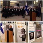 Opening of the #Sibelius exhibition at the European Parliament in #Brussels. #Finland #Finlandia http://t.co/RSgioz1jRF