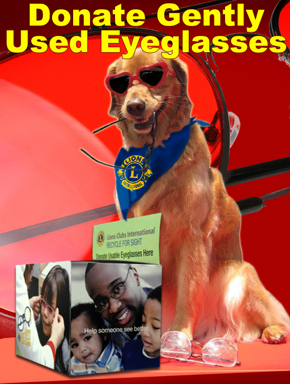 Donate gently-used eyeglasses to your local Lions Club! http://t.co/Sud1viIgpg