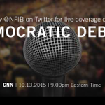 .@NFIB will be live tweeting tonights #DemDebate! RT if youll be watching. http://t.co/y0QfUcQeej