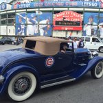 Whats a jersey when you can arrive at the ballpark in this. #Cubs @cbschicago http://t.co/bHPoDhVDL3