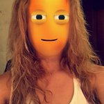 the snapchat effect made dinah look like the thing from brain pop LMAO http://t.co/sqUpeDI2C5