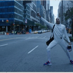 .@MChamleyWatson takes fencing to the New York City streets. http://t.co/HRBrwzmcJ9