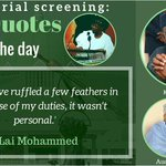#MinisterialScreening:Top quotes of the day http://t.co/nEuFEaTJTj @APCNigeria @Gidi_Traffic @PdpNigeria @NGRSenate http://t.co/kta7r4tC8O
