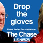 All eyes are on @HillaryClinton and @BernieSanders at the #DemDebate. Could it get dirty? http://t.co/Jysbzil0fh http://t.co/YCir4i1kJe