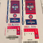 Which one is fake? Be careful, @Cubs fans. About 100 counterfeit playoff tickets seized: http://t.co/fzsy628Ze4 http://t.co/pyywJzvJ2C