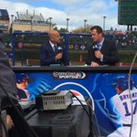 .@Cubs Pregame Live right now before #NLDS Game 4! ⚾️???? #CubsTalk #FlyTheW http://t.co/xl4YrKtitq