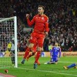[#QualifEuro2016] Ramsey vient de marquer son 2e but en qualif de lEuro 2016 après un beau travail de Bale. #WALAND http://t.co/PxQNBbWiTB