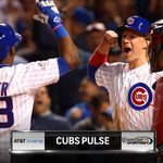 Game 4 of #NLDS is here. Stay locked in to #Cubs Pulse during game to see whats buzzing: http://t.co/TZX7AMxmcs http://t.co/ocmCu7AcKf