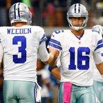 → SportsCenter: QB Brandon Weeden has been informed that Cowboys will start Matt Cassel after bye week vs Giants. … http://t.co/zKuvEx7LAU