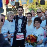 Meet the couple who said 'I do' while running the Chicago Marathon http://t.co/RMZ0CwPY9I