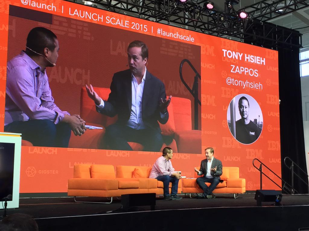"""As cities grow they become more efficient. The opposite is true for companies"" @tonyhsieh and @Jason #launchscale http://t.co/0Ej1LmxAWR"