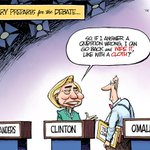Editorial cartoon: How Clinton prepares for the debate http://t.co/ueN0cfBKjC http://t.co/4BFh9NysAx