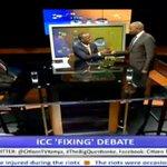 VIDEO: Moses Kuria walks back to #TheBigQuestion http://t.co/ndblhjb0H6 http://t.co/9NLmC9bFK7