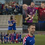 Croatian players continue to celebrate after securing a place at the @UEFAEURO! Congratulations! #BeProud #Croatia http://t.co/0SPrk8x7at