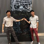 2 NUS medical students invite public to write on chalkboards placed in shopping centres http://t.co/x2j3k9f268 http://t.co/C67nMuuBR2