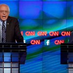 Bernie Sanders had his say on the Clinton email saga, and the #DemDebate audience loved it http://t.co/8kkYCuOHb5 http://t.co/LSfUm02YJA