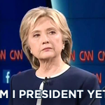 Retweeted The Daily Show (@TheDailyShow):  .@HillaryClinton RN #DemDebate #CNNDebate http://t.co/HKXidGyxVy http://t.co/cWg4FPYA20