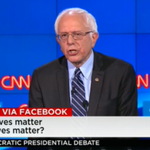 "Do black lives matter? Sanders: ""Black lives matter."" ""We need to combat institutional racism from top to bottom."" http://t.co/UtIRWb5JLH"