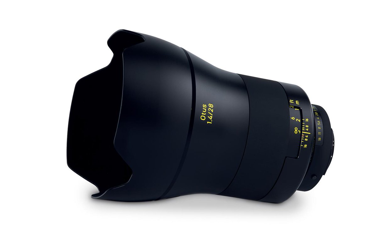 Otus just turned wide-angle. Here is Otus 1.4/28, the newest member of our #Otus family: http://t.co/E2u68JT1WQ http://t.co/Aoi802bK8y
