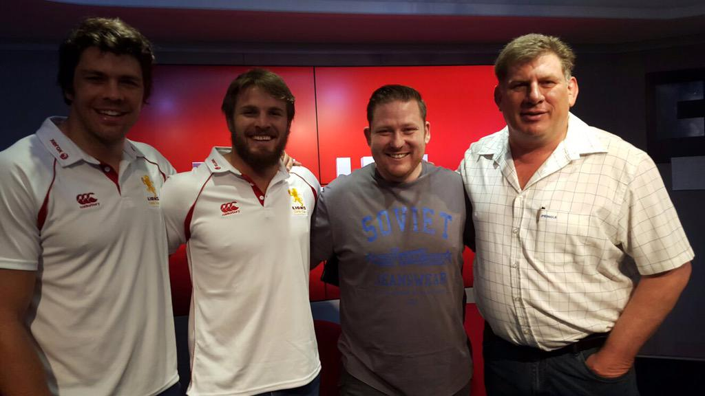 Massive game this weekend! @LionsRugbyUnion goodluck guys!Wil be there supporting our team! @WarrenWhiteley @jacok6 http://t.co/nXficcFl6L