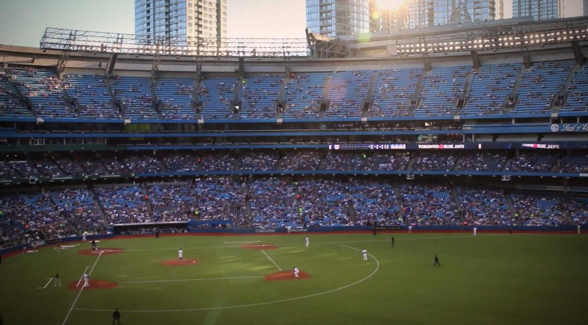 History in the making. RT if you're cheering for the @BlueJays on tonight! Good luck boys. http://t.co/B4H0T0qj1Q