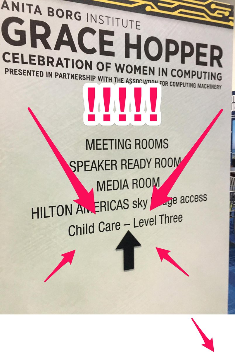 If you want to support diversity at your tech event, this is what you need to do. #GHC15 http://t.co/yTrwJHs2CA