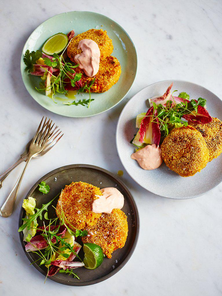 #Recipeoftheday Mexican-style sweet potato fish cakes from the latest @JamieMagazine http://t.co/9k2tkTYj5U http://t.co/qNBgQMowXG