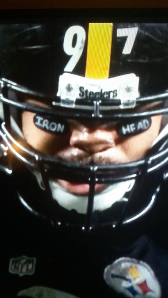Got fined for honoring my Dad who bravely fought cancer on my eye black. #Nevergiveup #CancerSucks http://t.co/RTx988ijG9