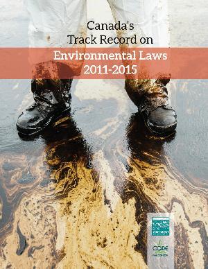 BREAKING - A major new report on Cdn govt attacks on #environmental laws - Pls RT: http://t.co/eYyz0opnN0 #elxn42 http://t.co/o69CHvD0E5