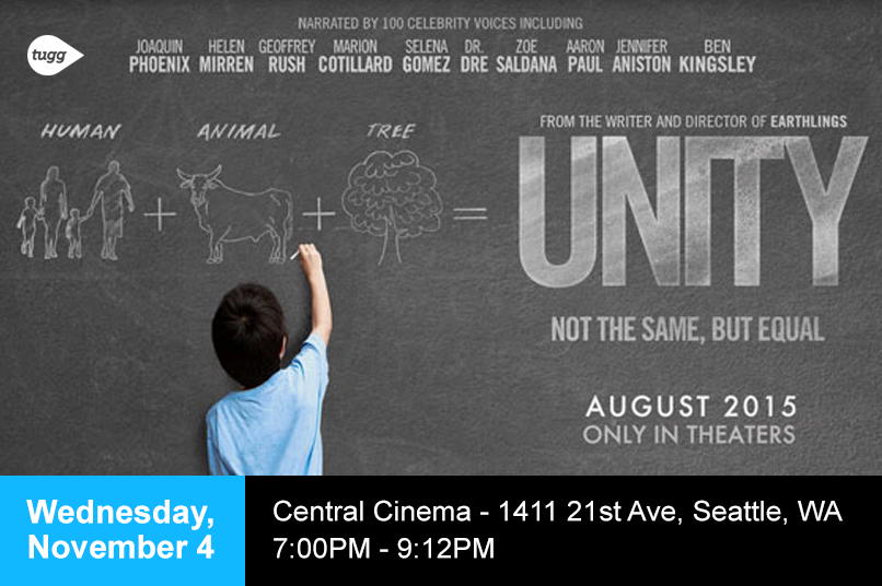 RT @UnityFilm: SEATTLE! Reserve your tickets now to see #UnityFilm on 11/4 at @CentralCinema. http://t.co/bxbaDCjk1R http://t.co/svX6YezUwA