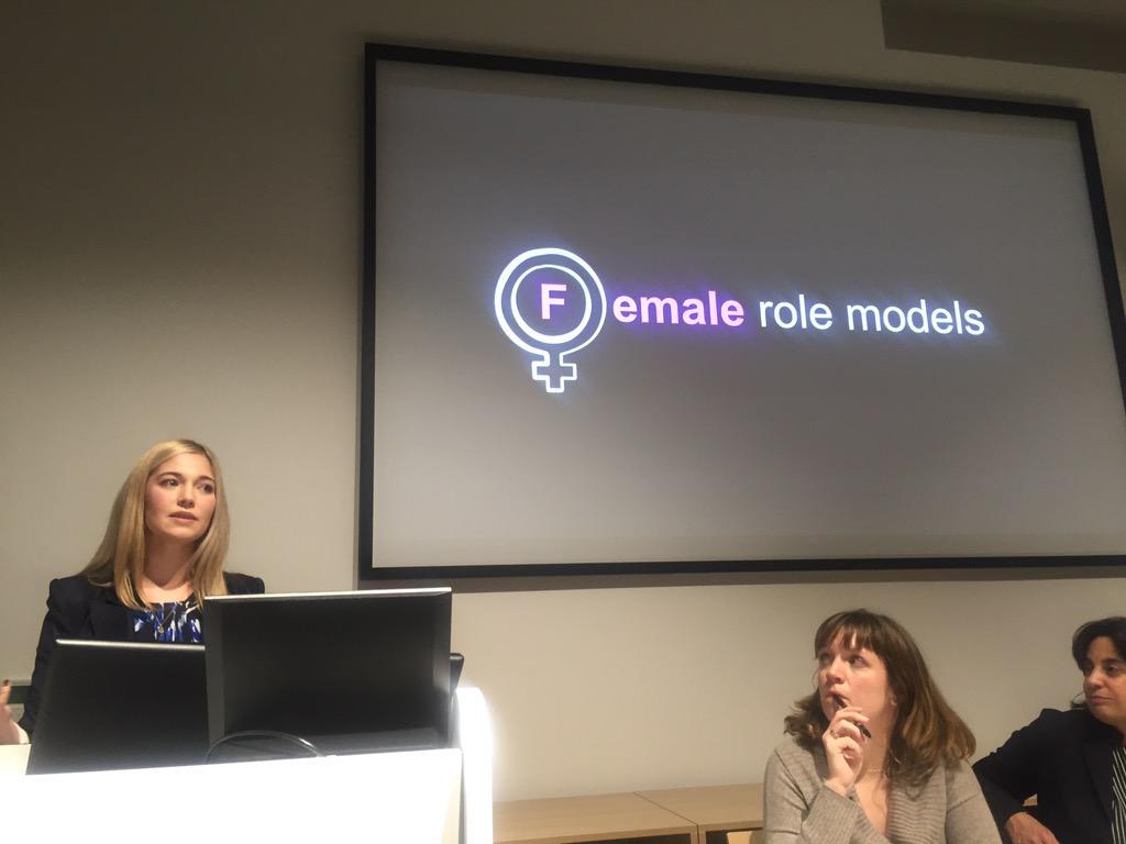 We need more female role models says @drjuliashaw #WiSTEMspotlight #MySTEMrolemodel http://t.co/HuvbLjIN9q