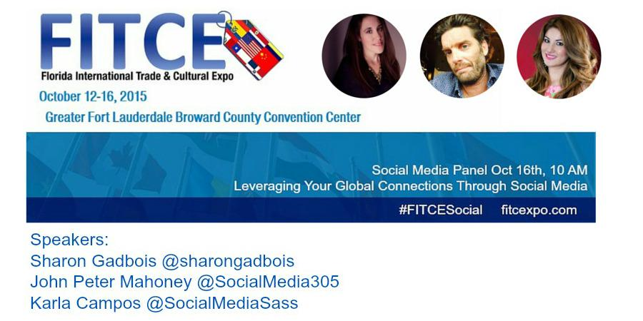 Catch @sharongadbois @SocialMedia305 @paobara at @FITCExpo Friday at 10 am! #fitce #fitcexpo #fitcesocial #broward http://t.co/Fi2YosyGv7