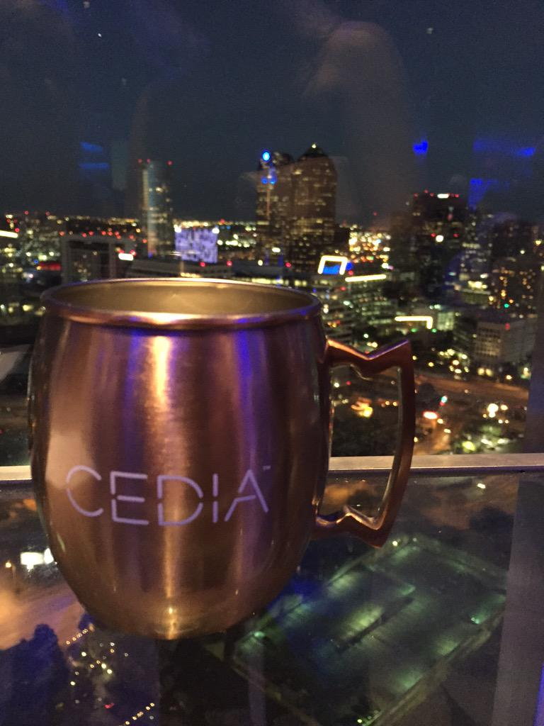 Cheers to a new look and a great show! #CEDIA15 http://t.co/apPP4C5keG
