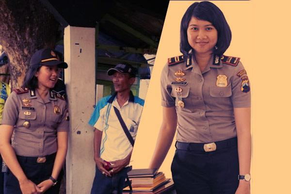 Netizen Salut Dengan Iptu Dhayita Daneswari, Kapolsek Termuda di Jawa http://t.co/XLcAdiZ9Za http://t.co/mjHTqvJkEk