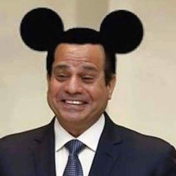 Egyptian Facebook User Sentenced to 3 Years in Prison for Putting Mickey Mouse Ears on Sisi http://t.co/zl6eZ8Sdm4 http://t.co/0birMZTFbC