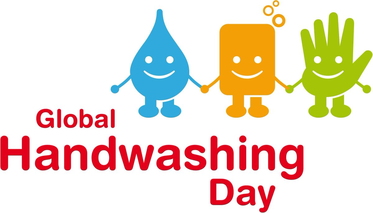 Its #GlobalHandwashingDay - a reminder of the importance of good hand hygiene to prevent the spread of infections http://t.co/HTbIiRHDeH