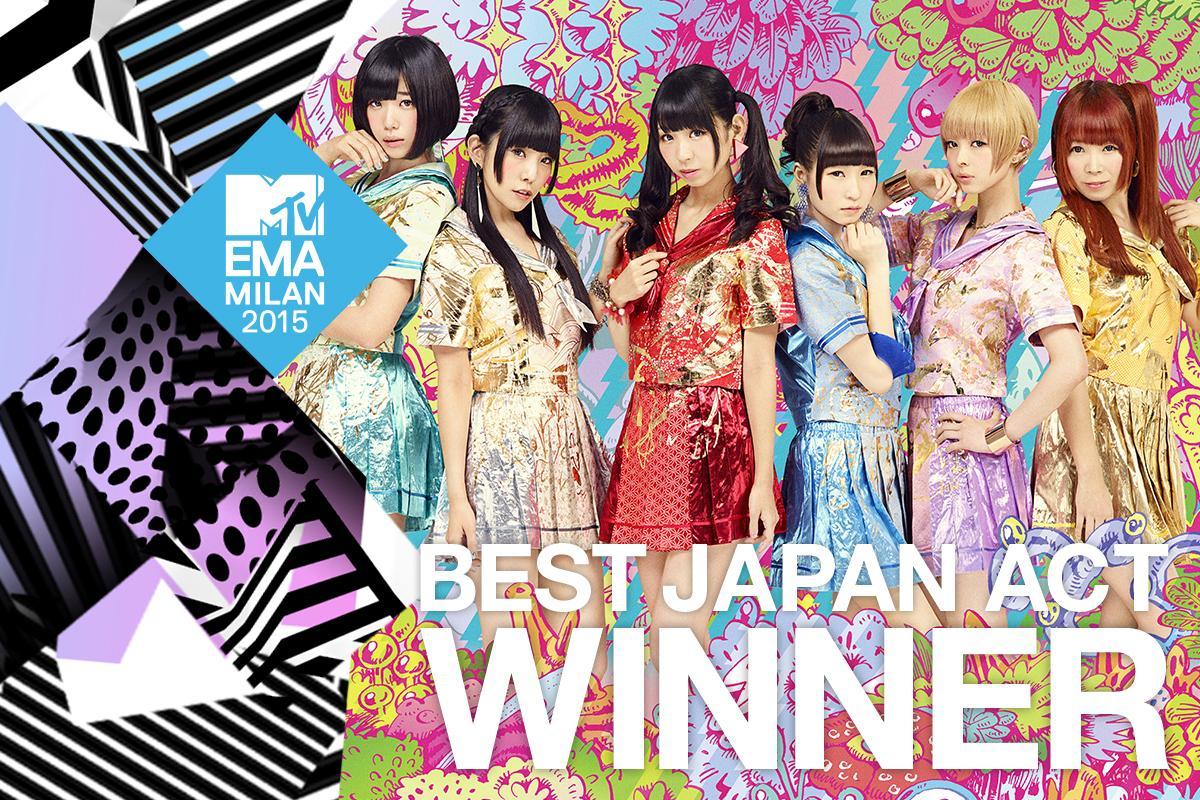 MTV NEWS | 2015 MTV EMA でんぱ組.incが「ベスト・ジャパン・アクト」に決定! http://t.co/FeVlZKbtwb @dempagumi #MTVEMA http://t.co/oyHWUfLNVv