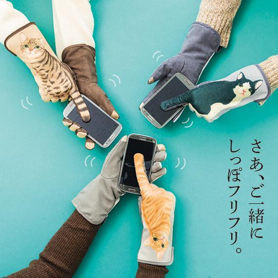 「猫のしっぽフリフリ手袋」発売! スマートフォンを操作するたび、猫がしっぽをーっ!⇒(http://t.co/XYRfU8zlZF) http://t.co/rZTj1m3ULN