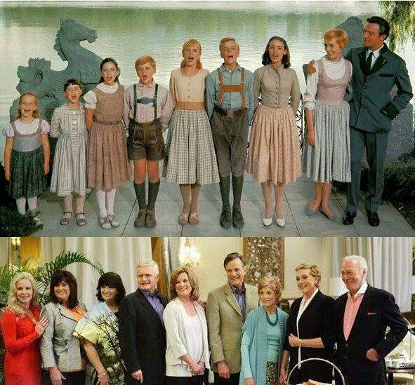"Saw this on fb ""45 years later... the von trapp family. .. "" http://t.co/hiWjK4yH1n"